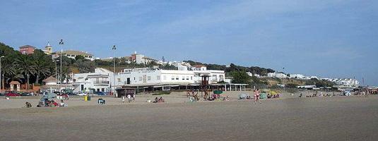 Playa La Fontanilla en Conil