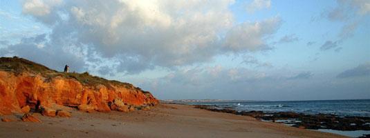 Playa Sancti Petri en Chiclana de la Frontera