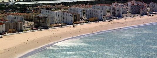 Playa Valdelagrana en El Puerto de Santa María